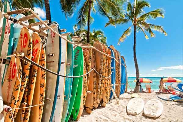 Vi surfar gärna på sydliga breddgrader