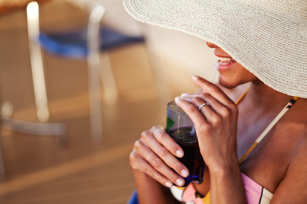 Drink på kryssningsfartyget Celebrity Solstice