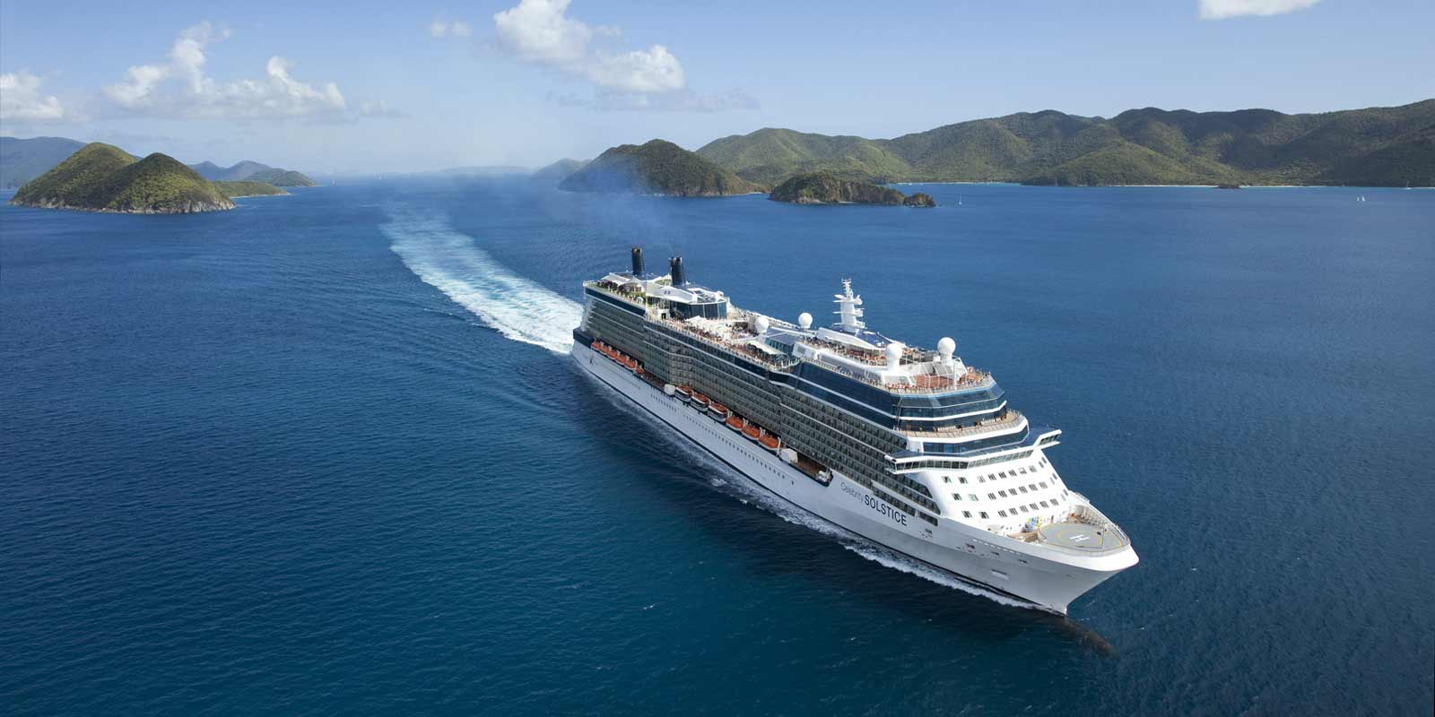 Celebrity Solstice kryssningsfartyg
