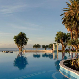 Hotel Pestana Casino Park i Funchal på Madeira, Portugal.