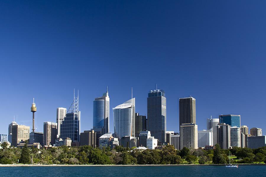 Sydney Australien Skyline