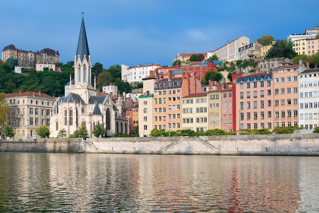 Lyon i Frankrike.