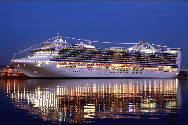 Kryssningsfartyget Caribbean Princess