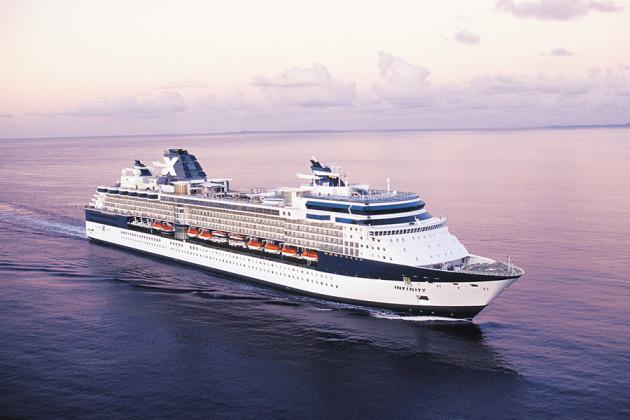 Celebrity Infinity kryssningsfartyg