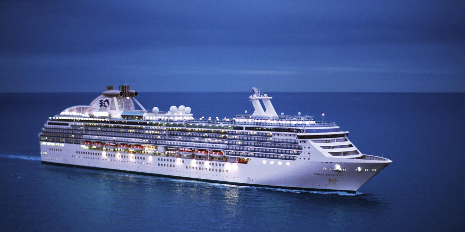 Kryssningsfartyget Coral Princess