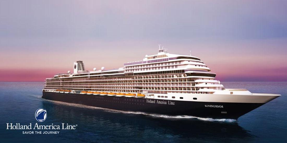 Rederiet Holland America Line med sina eleganta kryssningsfartyg
