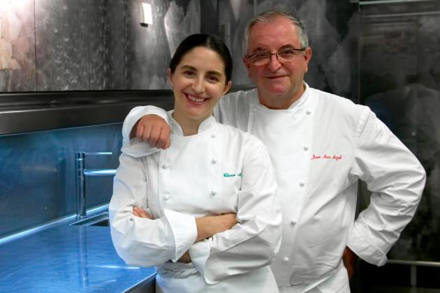 Juan Marí och Elena Arzak