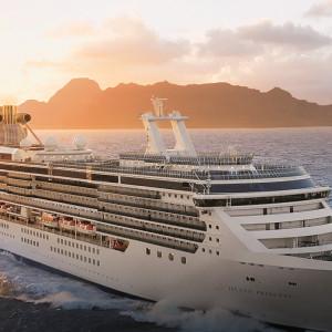 Kryssningsfartyget Island Princess
