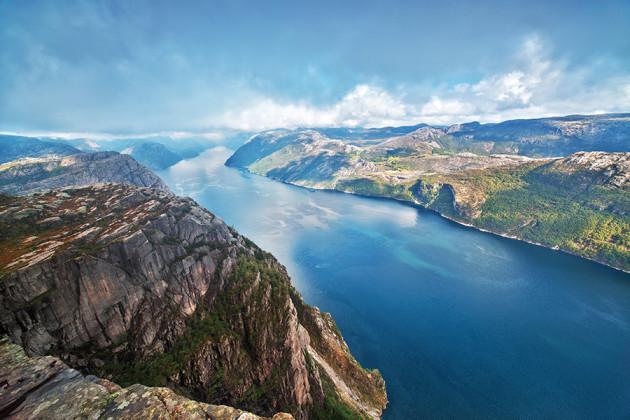 Predikestolen-i-Stavanger-i-Norge