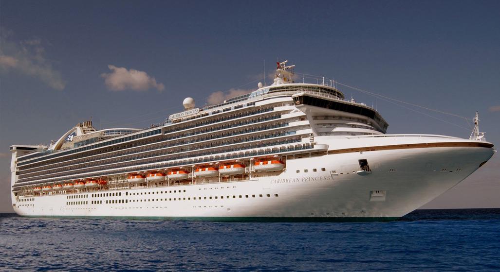 Kryssningsfartyget Princess Caribbean