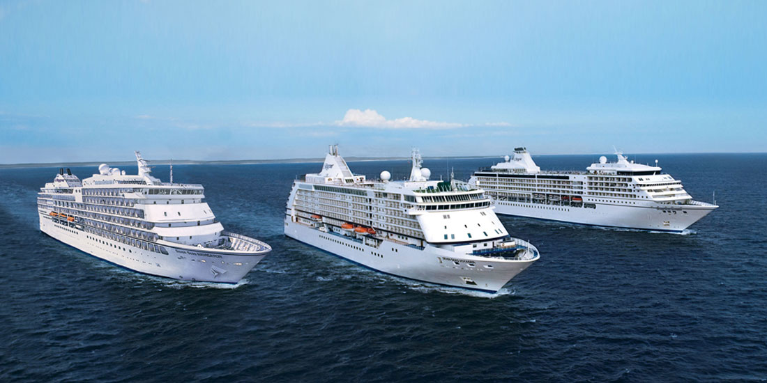 Lyxkryssningar med Regent Seven Seas