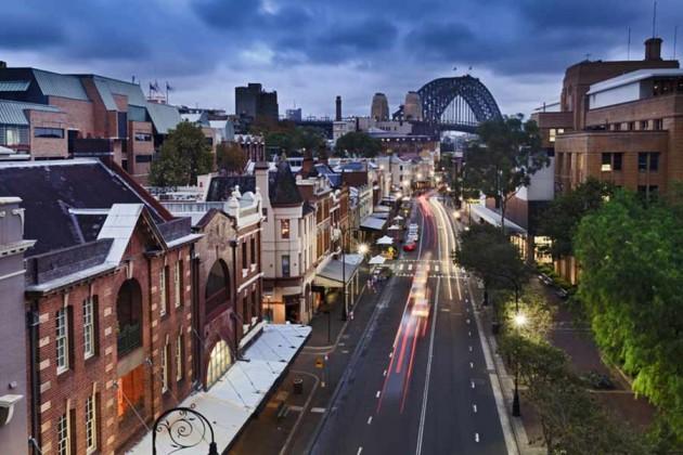 The Rocks Sydney Australien