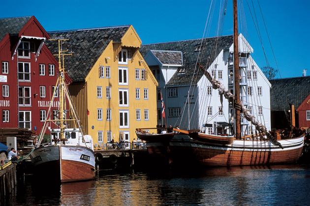 Tromsø Hurtigruten Norge