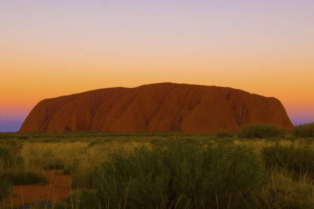 Ulury Ayers Rock Australien