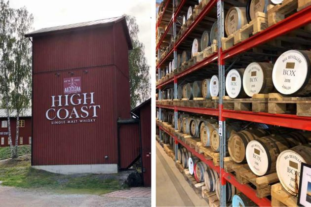 High Coast Distillery Whiskey