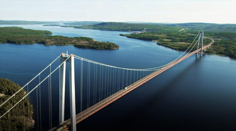 Höga kustenbron i Ångermanland