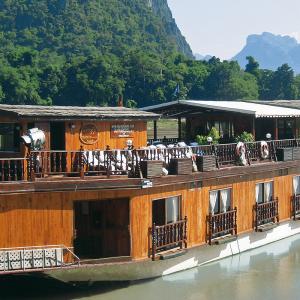 Laos Mekong Kryssning