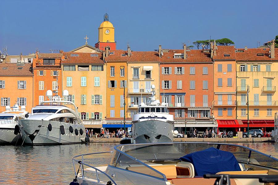 Saint Tropez Franska Rivieran