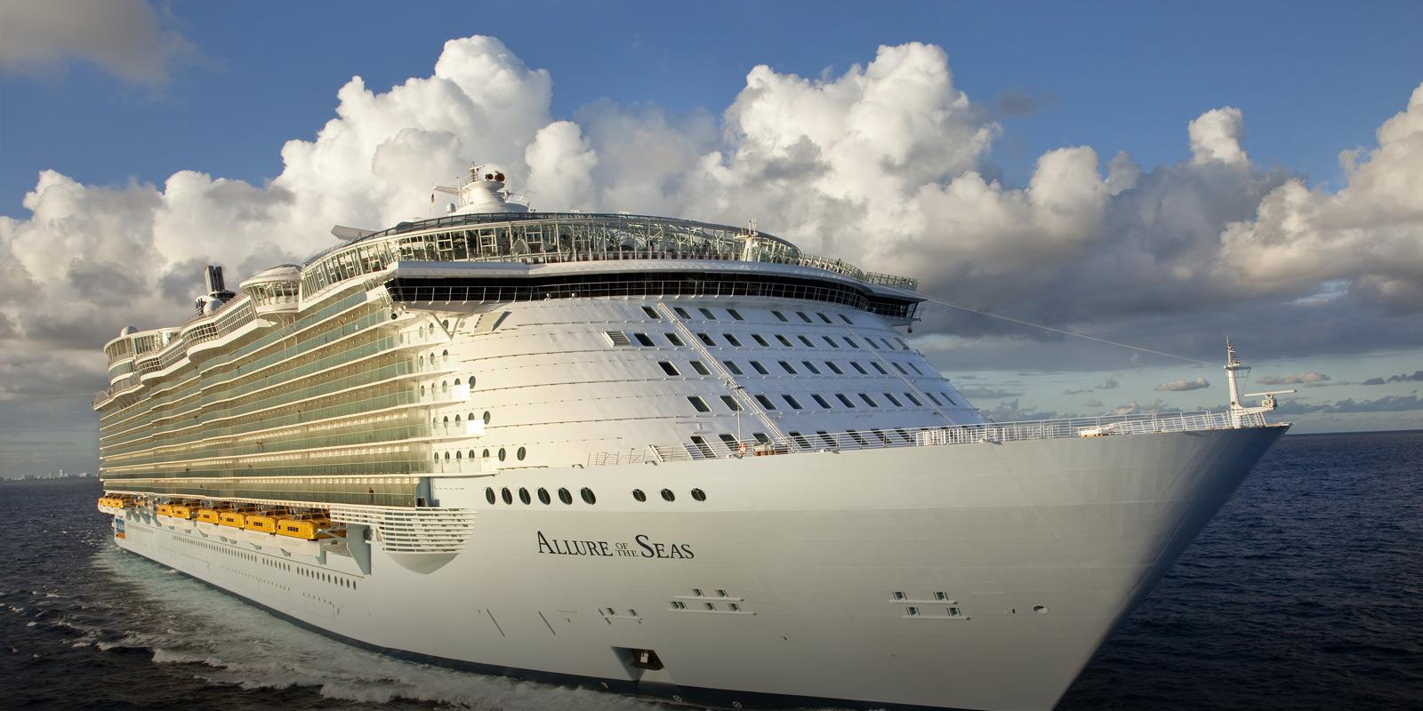 Kryssningsfartyget Allure of the Seas Royal Caribbean
