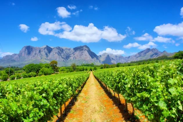 Franschoekk Sydafrika