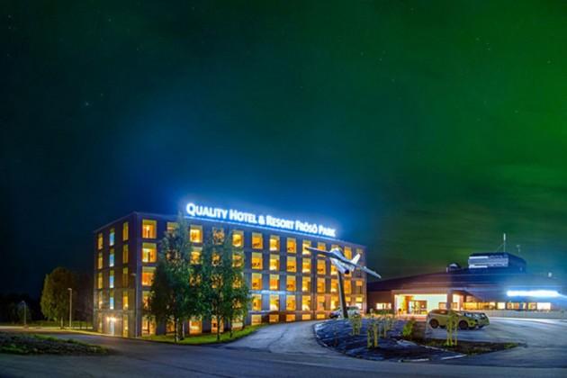 Frösö Park Hotel i Östersund, Sverige.