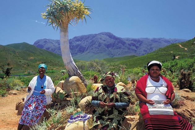 Xhosa-kvinnor