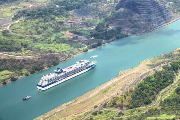 Panamakanalen kryssning