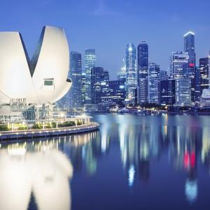 Singapore hamn