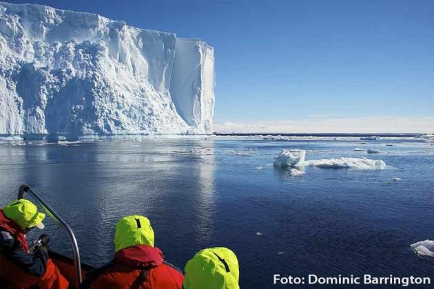 Antarktis Hurtigruten Foto: Dominic Barrington