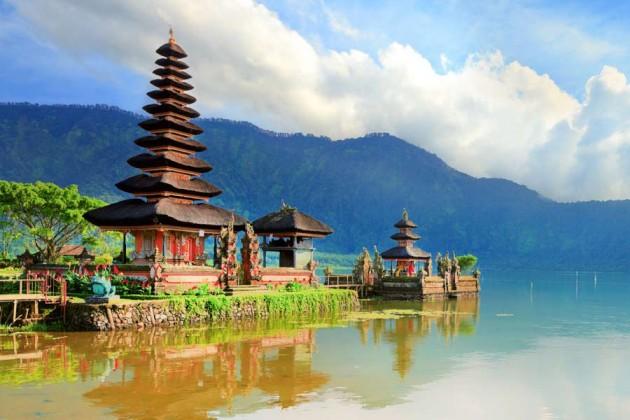 Tempel Pura Ulun Danu på Bali