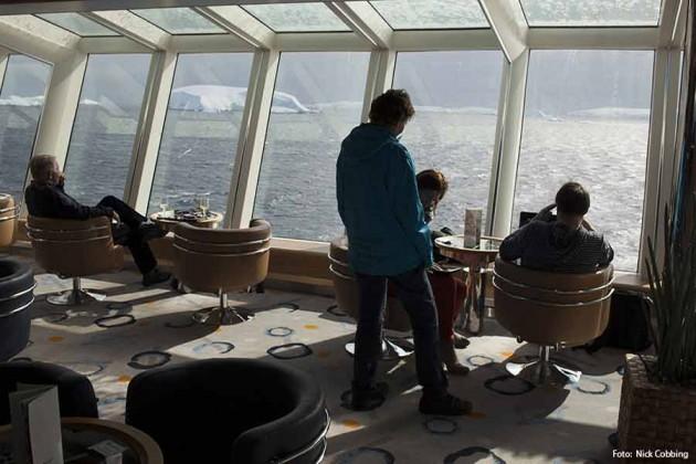 Kryssningsfartyget MS Fram Foto: Nick Cobbing