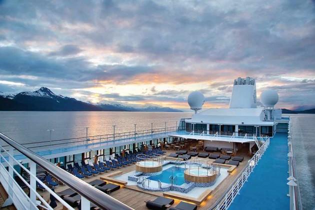 Poole på kryssningsfartyget Oceania Regatta