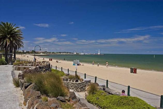 Strand Melbourne Australien