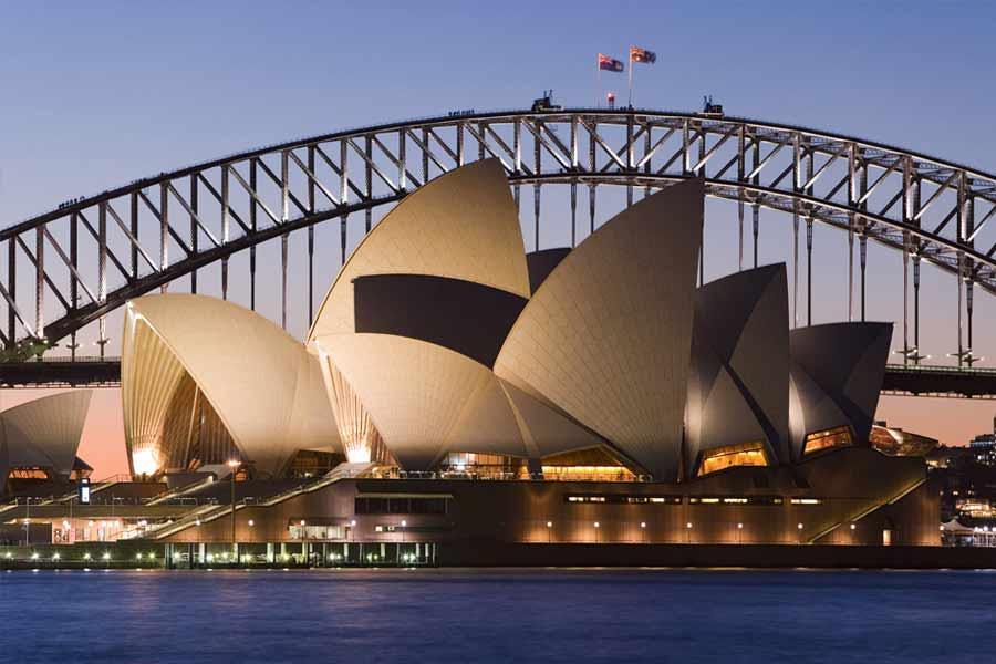 Operahuset i Sydney Australien