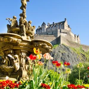 Edinburgh Brittiska öar Skottland