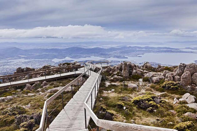 Tasmania Hobart Mt Wellington