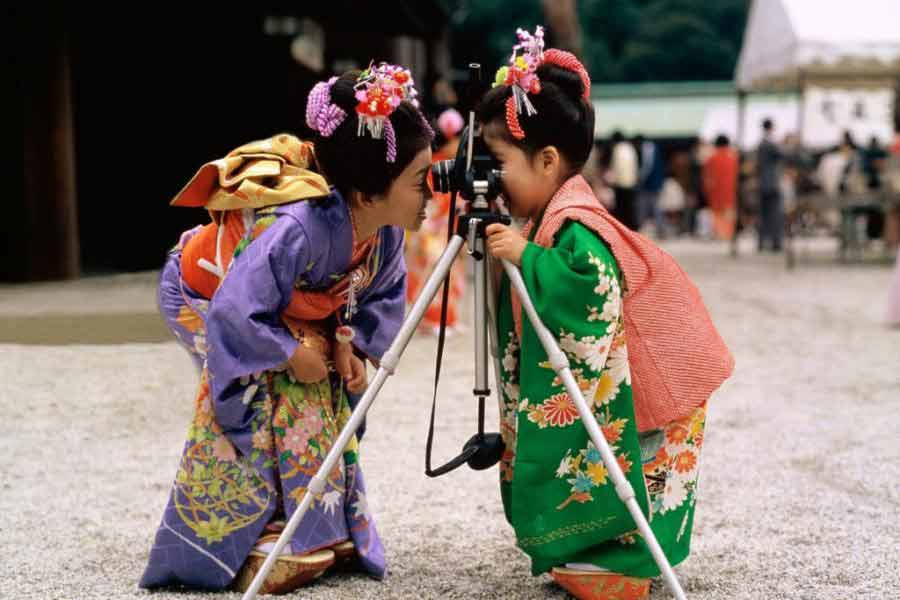 Barn i Japan
