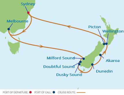 kryssning australien och Nya Zeeland jul 2017