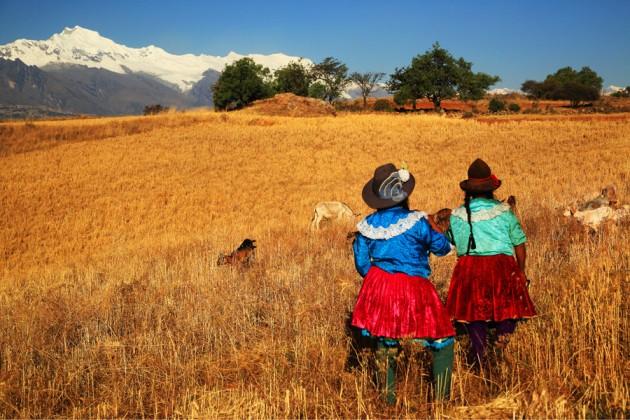 Inkafolk i Peru.
