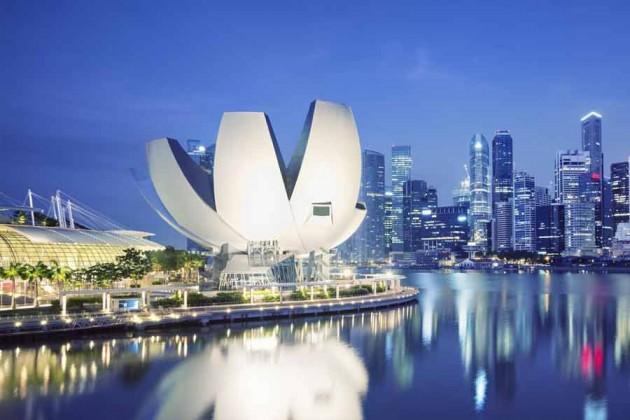 Kväll li Singapore