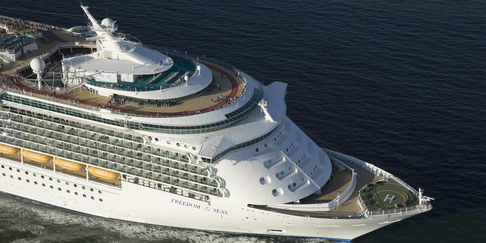 Kryssningsfartyget Freedom of the Seas