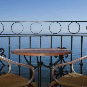 Balkong på Hotel Fuerte Marbella