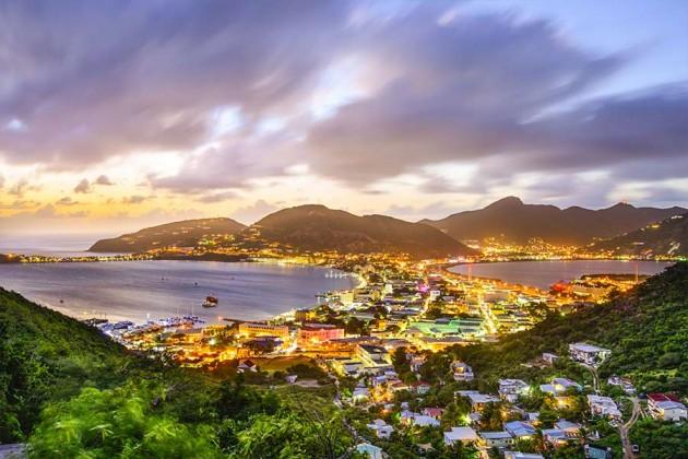 Philipsburg St Maarten, Karibien