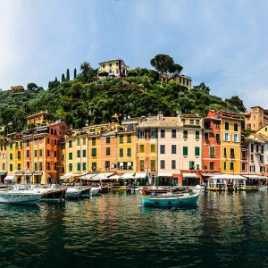 Portofino i Italien