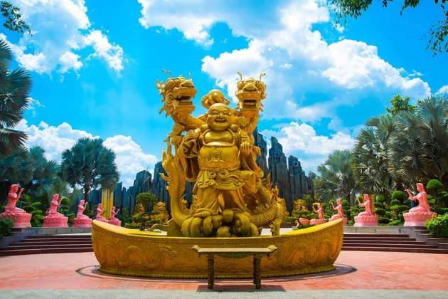 Park i Ho Chi Minh Vietnam