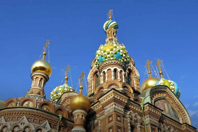 St Petersburg i Ryssland