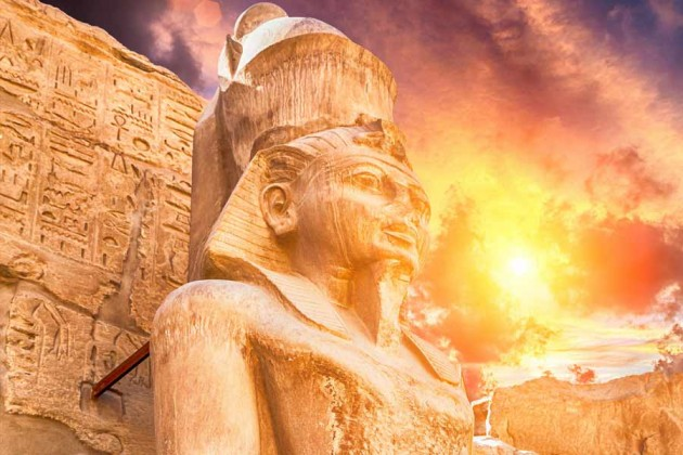Karnak Luxor Egypten