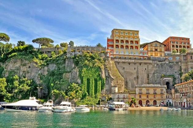 Vi upplever Sorrento i Italien