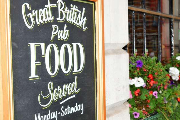 Pub på engelska landsbygden