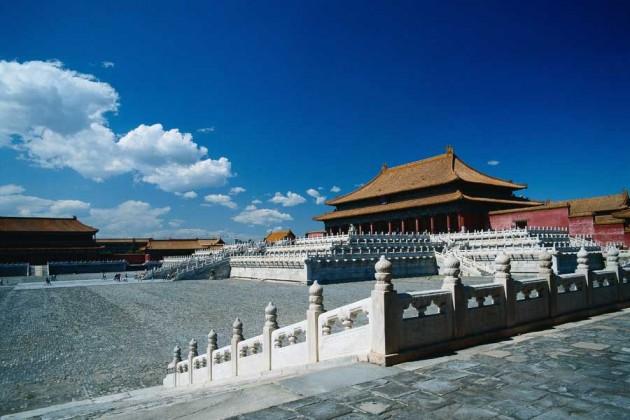 Peking Beijing Förbjudna staden